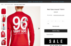 Topman 'unreservedly apologises' after claims it was selling t-shirt referencing Hillsborough disaster