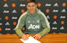 Man United defender Rojo rewarded with new Old Trafford contract