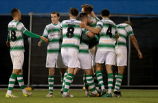 Shamrock Rovers edge out Saints thanks to ex-Aston Villa defender's own goal