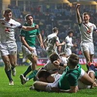 Ireland U20s fail to score in the second-half as they suffer heavy beating by England