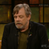 Mark Hamill shared some lovely words about Carrie Fisher on this week's Late Late Show