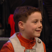 A kid from the Toy Show returned to RTÉ to invite Mark Hamill to play with his friends on their road