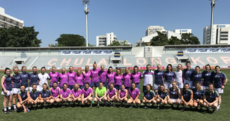 Ladies football All-Stars put on an exhibition in Bangkok with a couple of cracking goals