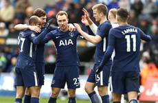 No Kane, no problem: Eriksen fires impressive Spurs into FA Cup semi-finals