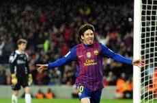 WATCH: Leo Messi breaks Barca goalscoring record