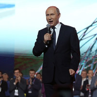 Russians go to the polls as Putin is set to secure a fourth term in charge