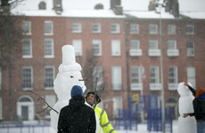 Rugby homecoming cancelled and buses hit as snow hits Ireland - again