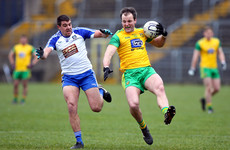 Donegal facing must-win tie to avoid relegation after defeat to Monaghan