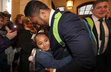 'It's one of the great days for us': Snow-delayed Ireland return to warm welcome after Grand Slam
