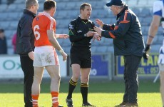 Sectarian storm: Armagh complain of 'racist' abuse towards players