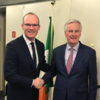 UK and EU agree on Brexit 'backstop' solution for the Irish border