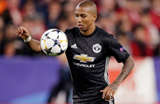 Manchester United trigger one-year contract extension for Ashley Young