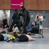 Pictures: Gardaí and Defence Forces carry out dramatic terror training at Shannon Airport
