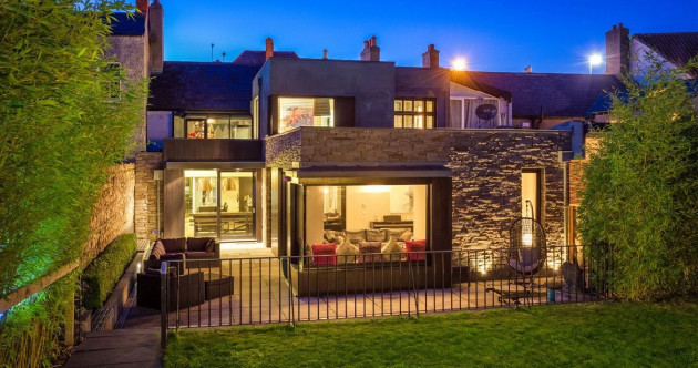 Victorian villa with a high-tech makeover in the heart of Blackrock