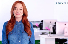 Lindsay Lohan is the new spokesperson for, eh, Lawyer.com... It's the Dredge