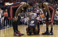 Known appletini drinker, LeBron James: I'm too tough for concussion