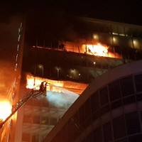 No reports of casualties as major fire rages at building complex in north Dublin city