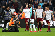 West Ham dish out lifetime bans for pitch invaders and fans who threw missiles at directors' box