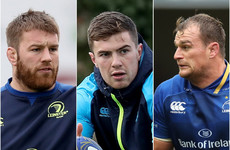 Leinster's injured trio could return for Champions Cup showdown with Saracens