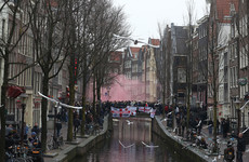 Almost 100 England fans arrested after trouble in Amsterdam