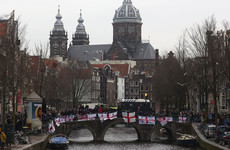 Almost 100 England fans arrested after trouble in streets of Amsterdam