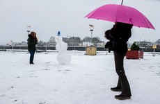 Spring-like conditions today - but wintry showers set to return before Easter