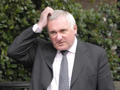 Former Taoiseach Bertie Ahern (File)