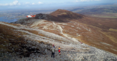 Coast Guard helicopter called out as two women sustain leg injuries on Croagh Patrick