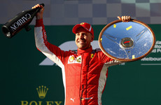 Vettel holds off Hamilton to win Australian Grand Prix thriller in Melbourne