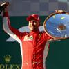 Vettel holds off Hamilton to win Australian Grand Prix thriller in Melbourne
