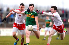 McClure's goal helps Tyrone to dead-rubber win over Kerry