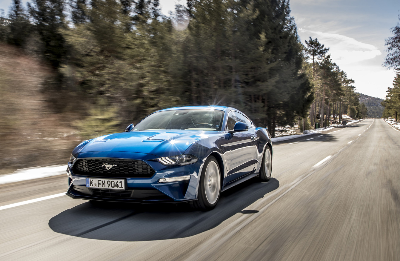 Review the new ford mustang is a helluva lot of all american fun