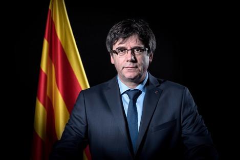 Exiled former Catalan leader Carles Puigdemont