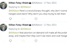 New Young Fine Gael chairman says his 'coathanger abortion' comment was 'atrocious'
