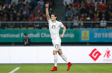 100-cap Cavani hands Giggs his first defeat as Wales boss in China Cup final