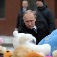 Putin says Russia shopping centre fire that killed 41 children was 'criminal negligence'