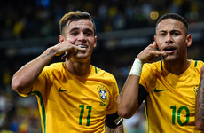 'Coutinho is on the same level as Neymar'