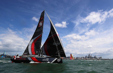 British sailor 'presumed lost at sea' after going overboard in the Volvo Ocean Race