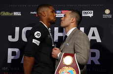 Hardly a shocker, but Joshua and Parker predict knockouts ahead of titanic clash