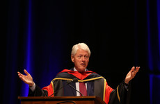 Belfast council votes to award Bill Clinton freedom of the city