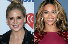 Sarah Michelle Gellar has admitted to biting Beyoncé - sort of
