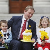 Here's what the Taoiseach was doing as the Mahon report was released
