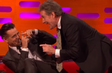 Bryan Cranston reckons Colin Farrell gave him pink eye before... It's The Dredge
