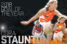 Cora Staunton caps impressive few months in Oz with Giants' Goal of the Year