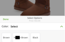 Groupon have been slammed for using a racist slur to describe a pair of boots