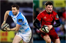Leinster and Munster name teams for Friday's B&I Cup quarter-final showdown