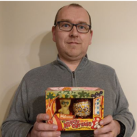 A Louth man has kept an Easter egg in his fridge for 40 years because it was 'too nice' to eat