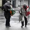 The weather for the Easter weekend is going to be wintry, blustery and frosty
