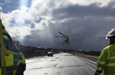 Motorists warned about hailstones as gardaí attend number of crashes