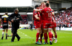 Scarlets book Champions Cup semi-final date against either Leinster or Saracens